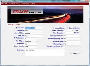 stalker traffic stats application traffic statistics for