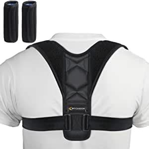 Amazon.com: MYCARBON Posture Corrector for Women Men with ...