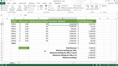 excel what if analysis data table what if analysis tool in excel 2013 what if analysis
