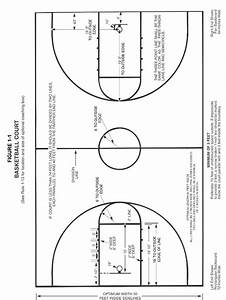 Search Results Templates  Basketball Court Diagram Labeled
