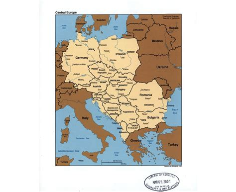 maps  central europe collection  maps  central