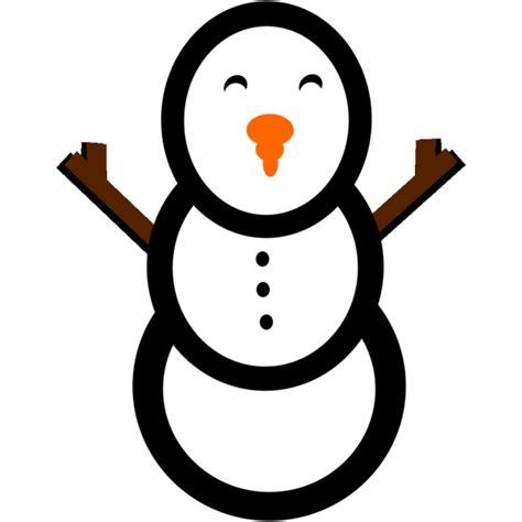 snowman  carrot nose  hat png svg clip art  web