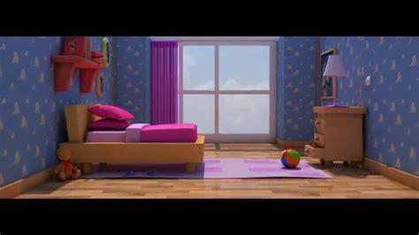 Pixar Style Cartoon Room