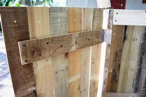 Recycling Pallets into a Rustic Recycle Bin - the thinking