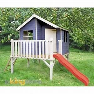 Cabane Exterieur Enfant : cabane enfant bois louis achat vente maison jeux ~ Melissatoandfro.com Idées de Décoration