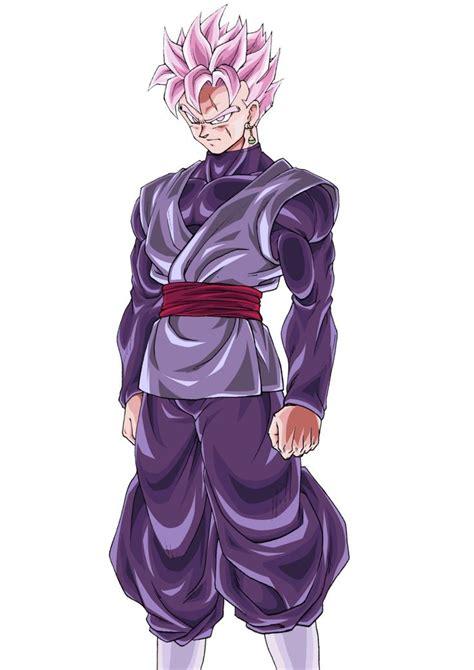 future gohan black super saiyan rose personajes de