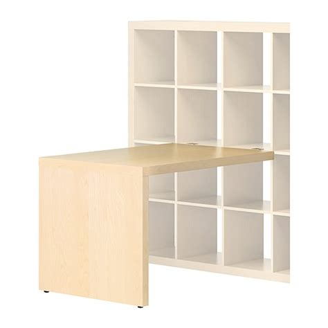 desk with bookcase attached as they grow add this desk option to their expedit