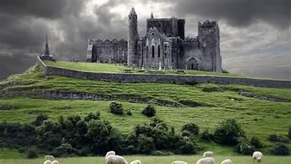Castles Irish Ireland Background Wallpapers Backgrounds Wallpaperaccess