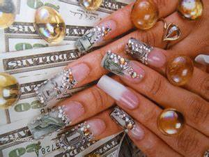 Money Nail Designs | NAILSPEDIA