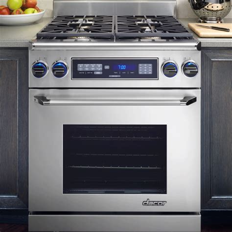Dacor ER30DSCHNG 30 Inch ProStyle Dual Fuel Range with 4