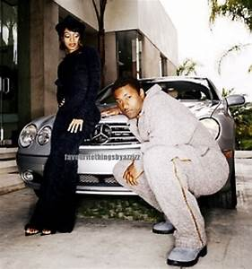Lisa Lopes and boyfriend Andre Rison. | Lovey stuff ...