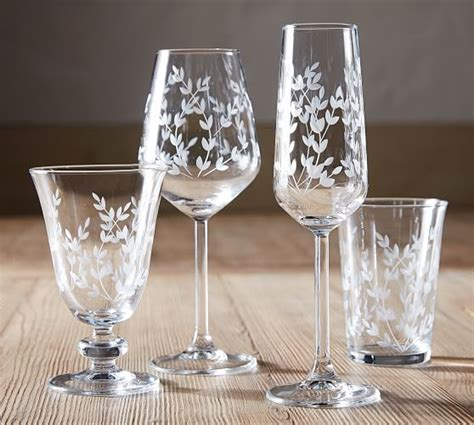 etched glass glasses tumbler potterybarn wine pottery barn dp cocktail
