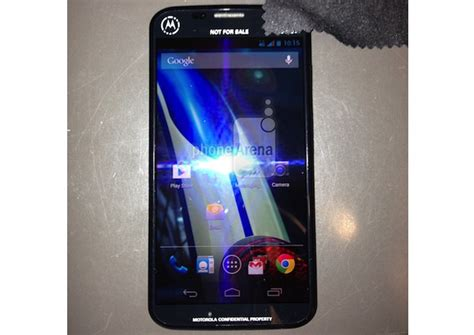 purported picture  motorola  phone appears