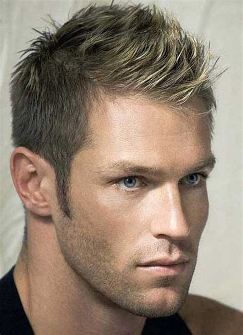 short hairstyle  men mens hairstyles