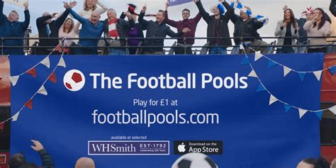 Office Football Pool Website by New Major Tv Caign For The Football Pools Tv