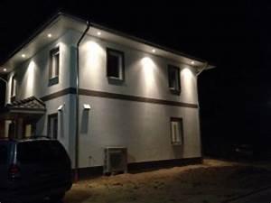 Außenbeleuchtung Haus Led : hausbau abgeschlossen unser haus ist fertig baublog ~ Lizthompson.info Haus und Dekorationen