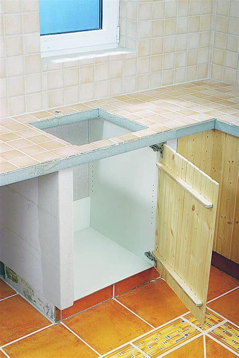 kuechenbau aus porenbeton kueche bad sanitaer selbstde