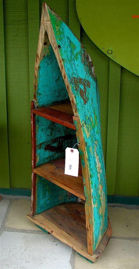 bali reclaimed teak boat bookshelf bookcase shelves