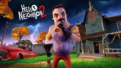 neighbor  annunciato il secondo capitolo del famoso stealth game