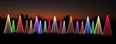 commercial outdoor tree decorations colorful led lights