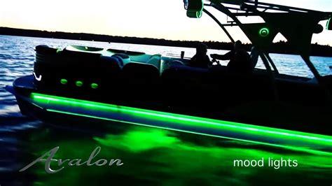 Led Lights On Pontoon Boat by Luxury Pontoon Boat Lighting Beautiful Leds Avalon