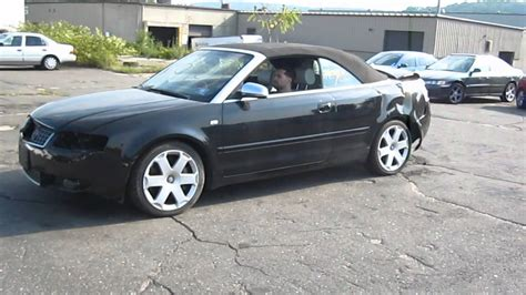 Parting Out A 2005 Audi S4 V8 Convertible For Parts 110402