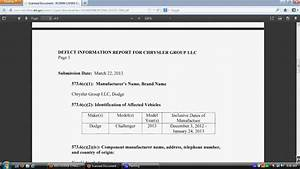Dodge Ram Wiring Harness Recall : dodge challenger wiring harness recall 2013 youtube ~ A.2002-acura-tl-radio.info Haus und Dekorationen