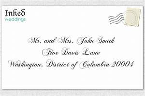 emily post addressing invitation to husband and wife With wedding invitation etiquette addressing envelopes emily post