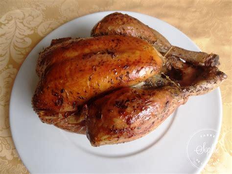 cuisiner un poulet roti poulet rôti au thym la tendresse en cuisine