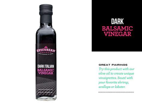 what is balsamic vinegar dark balsamic vinegar 250ml epicurean season