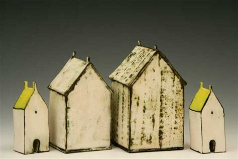 Ceramic House by Margaret Cooter Ceramic Houses