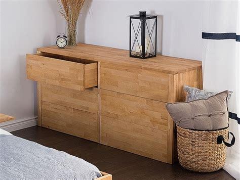 commode contemporaine chambre commode en bois armoire à 6 tiroirs carris arras