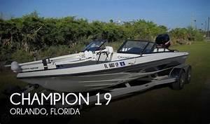 Sold  Champion 19 U0026 39  Boat In Orlando  Fl