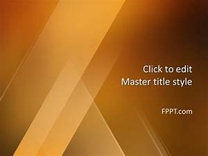 Free Professional Abstract Background Powerpoint Template