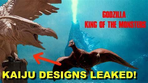 "Rodan, Mothra, And King Ghidorah Designs All ""Leaked"