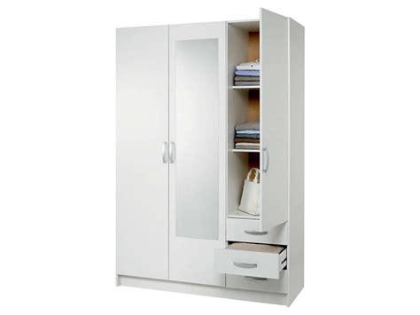 couleur pour une chambre d adulte armoire 3 portes 3 tiroirs spot coloris blanc vente de