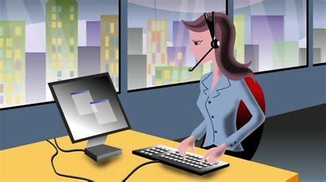 choix d un ordinateur de bureau business dessin animé animation par ordinateur hd