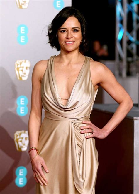 michelle rodriguez attends  bafta awards  london