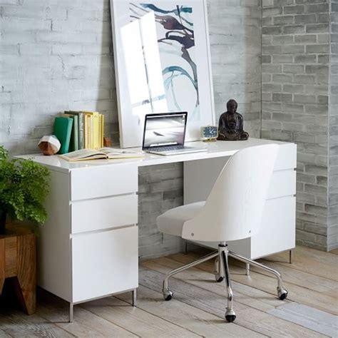 west elm office desk lacquer storage desk set 2 box files west elm