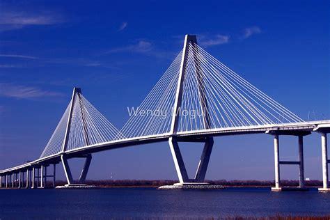 cooper river bridge  wendy mogul redbubble
