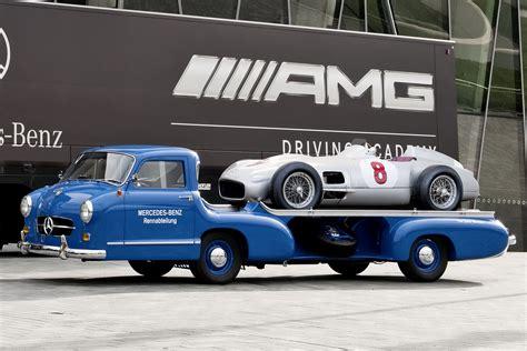 Mercedes BenzCar : Mercedes-benz Brings Together Three Generations Of Racing