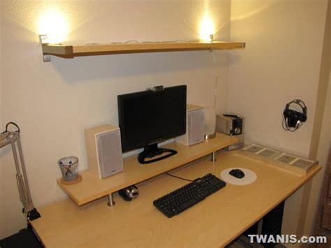 Monitor Shelf For Desk Ikea by Twanis The Best Computer Desk Setup From Ikea