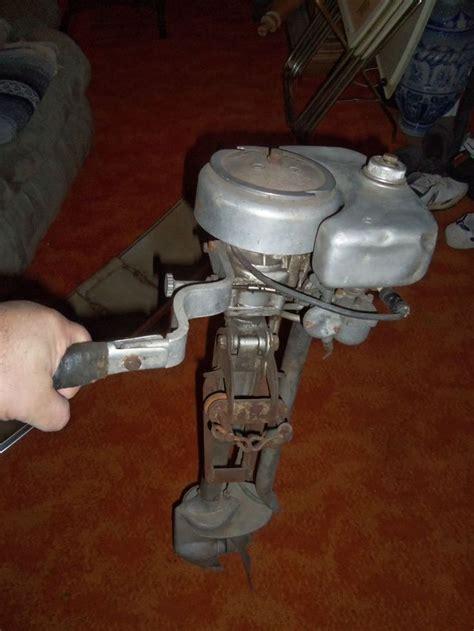 antique vintage  neptune outboard motor model ob