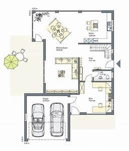 Haus Grundriss Ideen Einfamilienhaus : einfamilienhaus grundriss mit doppelgarage ~ Lizthompson.info Haus und Dekorationen