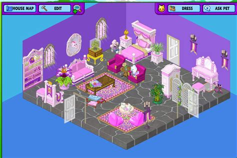 Webkinz Bedroom Themes by Webkinz Poodle S Room Theme Webkinz Room Themes Room