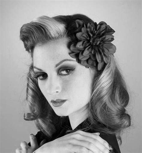 1940s Hairstyle How To by 1940s Hairstyles 1940s Hairstyles 1940s Hairstyles For