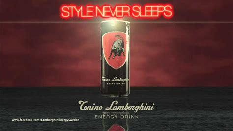 Tonino Lamborghini Energy Drink Reklam