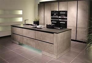 Arbeitsplatte Küche Betonoptik : kochinsel k che im beton look ~ Sanjose-hotels-ca.com Haus und Dekorationen