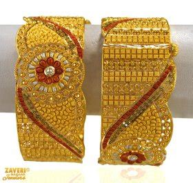 22k gold kadas 22k gold wide kada pipe kada and broad bangles can be found inside this category