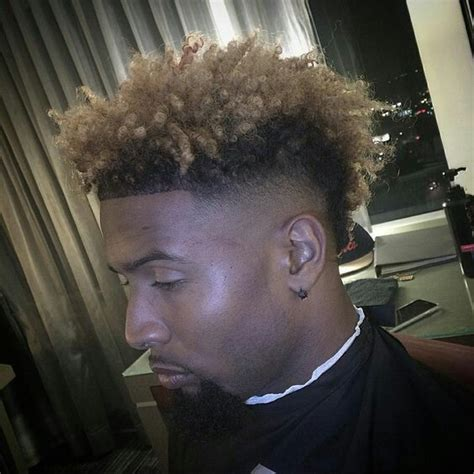odell beckham haircut beckhams style evolution